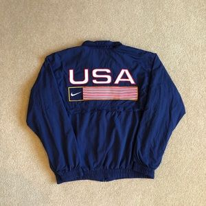 Vintage 90's Nike USA Jacket. Men's M
